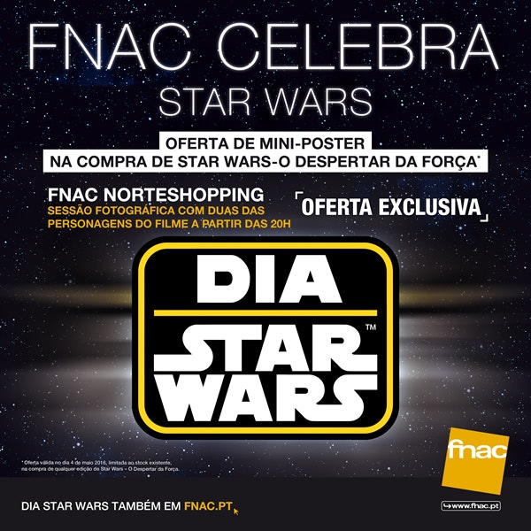FNAC Celebra Star Wars